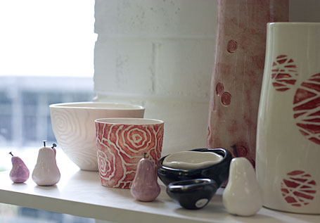 Ceramics in the UNSW Pottery Sale - made by Deb Taylor and Murray Topham