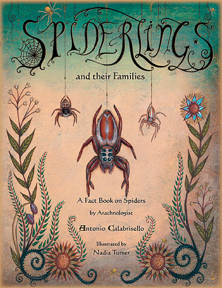 Spiderlings cover art by Nadia Turner (Wayward Harper)