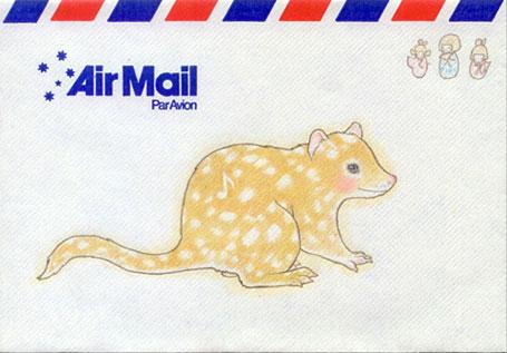 Quoll Mail by Lillian Piri
