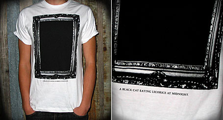 Black Cat limited edition tee by Young Lovers