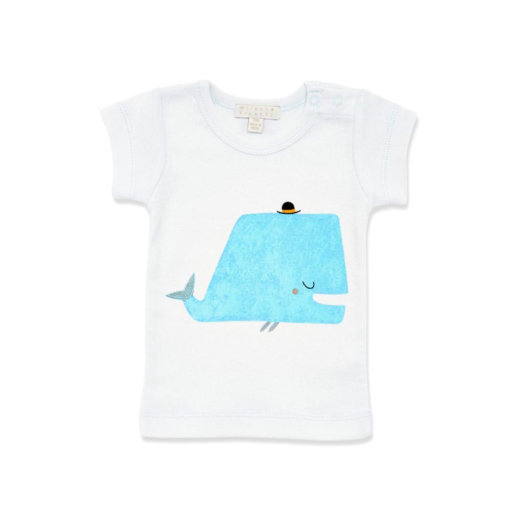 Shirt design australia - Little Whale Baby T Shirt Designed In Australia By Wilson Frenchy