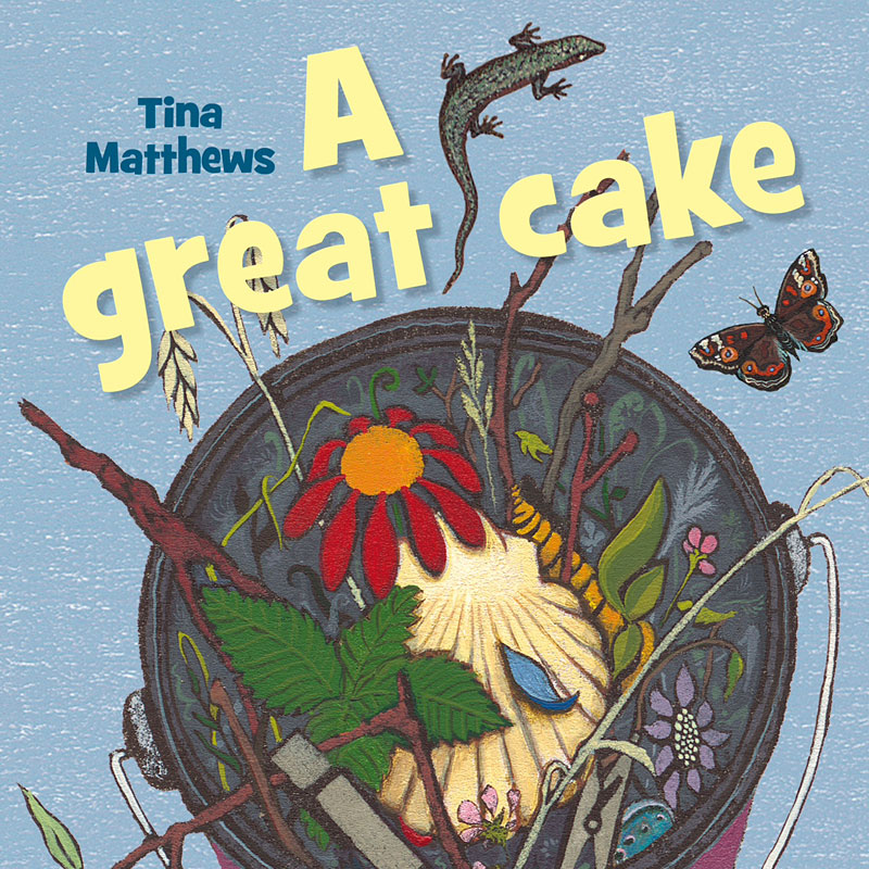 Great Cake book cover image by Tina Matthews