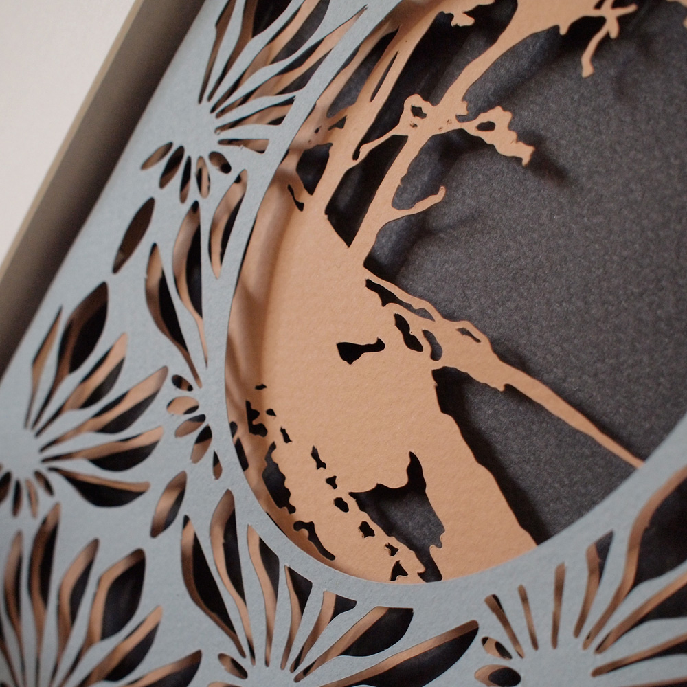 Tree Limited Edition Layered Paper Cut Indie Art Amp Design