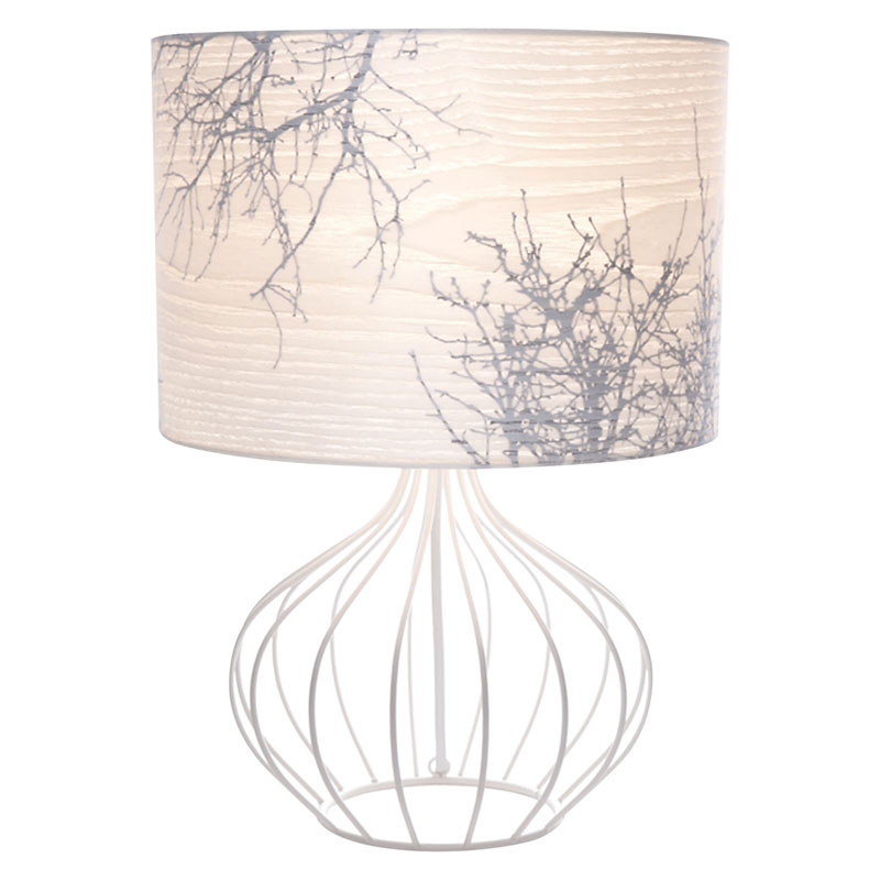 Short winter white table lamp indie art design short winter white table lamp by micky stevie aloadofball Gallery