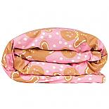Gingerbread Girl | Fox Face Single Reversible Quilt Cover - front - designed in Melbourne by Goosebumps Boutique Bedding