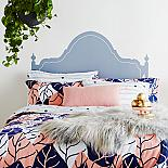 Dusk Till Dawn Reversible Queen size Quilt Cover - designed in Melbourne by Goosebumps Boutique Bedding