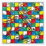 Snakes & Ladders Wooden Game designed in Australia by Fun Factory