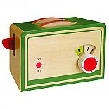Wooden Toaster with 2 Slices of Bread designed in Australia by Fun Factory