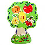 Wooden Lacing Fruit Tree designed in Australia by Fun Factory