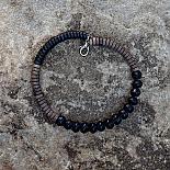 Myrtle Short Necklace - Black | Greywood - designed in Australia by mooku
