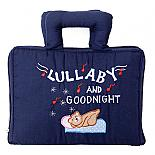 Lullaby and Goodnight Book Bag - Soft Activity Book - designed in Australia by Growing World