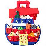 Noah's Ark Animal Alphabet Soft Fabric Toy designed in Australia by Growing World