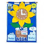 Sunflower - Soft Felt Wall Hanging - designed in Australia by Growing World