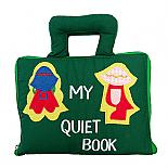 My Quiet Book Soft Activity Book designed in Australia by Growing World
