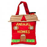 Animal Homes Soft Book Bag designed in Australia by Growing World