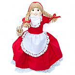 Red Riding Hood 3-Way Storybook Doll (Large) designed in Australia by Growing World