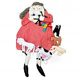 Old Lady Who Swalled A Fly Doll by Growing World