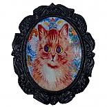Cat Cameo Brooch by Button Tree