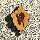 Capturing a Horse Brooch by Bonnie Poplar