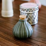 Sea Anenome Ceramic Bottle - Charcoal designed in Australia by Love Hate
