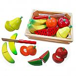 Cutting Food Crate with Knife - Fruit designed in Australia by Fun Factory