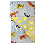 Roar Reversible  Quilt Cover - Double - designed in Melbourne by Goosebumps
