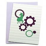 Hickory Dickory Dock Greeting Card by Non-Fiction