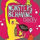 Monsters Behaving Badly Colouring Book by benconservato