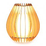 Ply Ribbed Table Lamp designed in Australia by Micky & Stevie