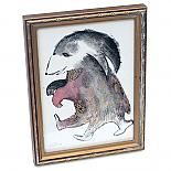 Sleep Walking Monster Framed Original Artwork by benconservato