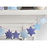 Star Deco Kit Blue by Polli