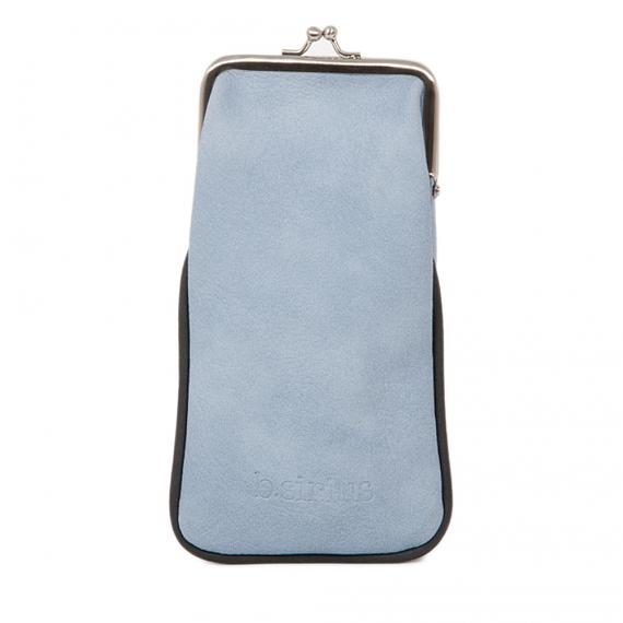 Back of Glasses Case - Kites (Pale Blue) designed in Austraila by b.sirius