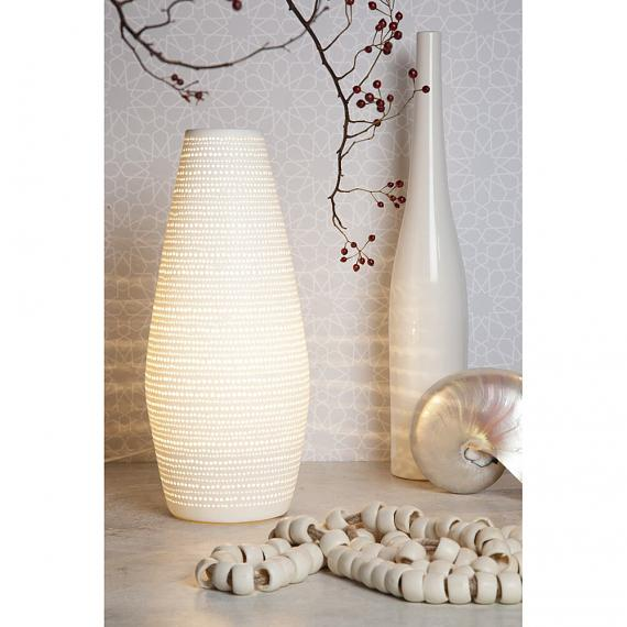 Ceramic Lamp Dots Vase designed in Australia by Delight Decor