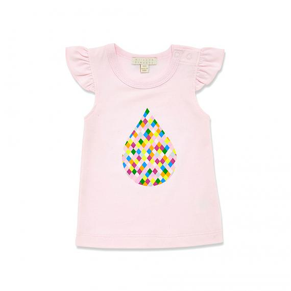 Colour Drop Baby T-shirt designed in Australia by Wilson & Frenchy