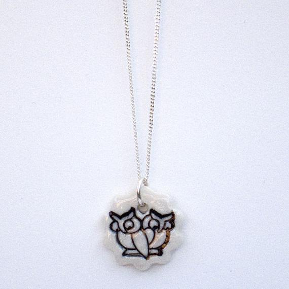 Night Owls Pendant by Iggy and Lou Lou