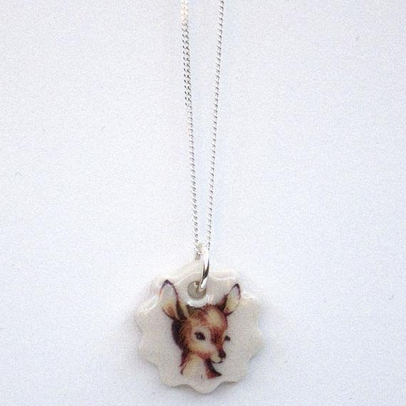 Fawn Pendant by Iggy and Lou Lou
