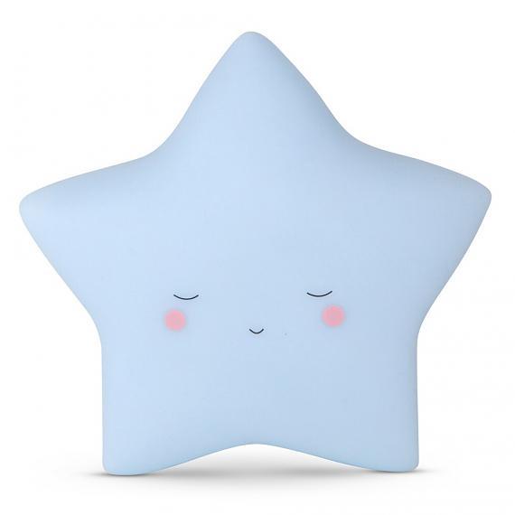 Little Dreams Little Star - Baby Blue - designed in Australia by delight decor