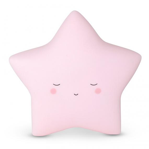Little Dreams Little Star - Baby Pink - designed in Australia by delight decor