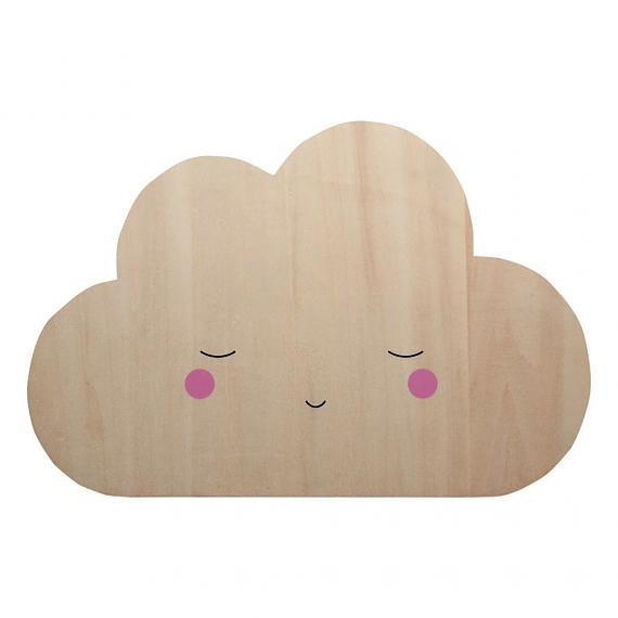 Little Dreams Silhouette Cloud designed in Australia by Delight Decor