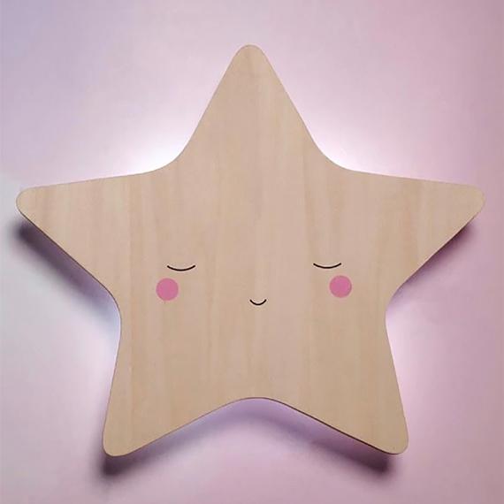 Little Dreams Silhouette Star - designed in Australia by Delight Decor