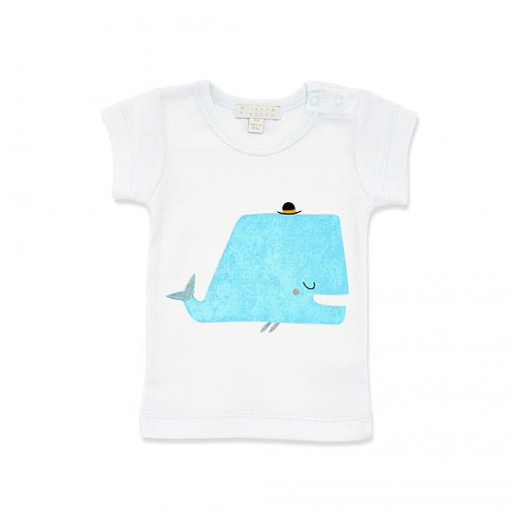 Little Whale Baby T-shirt designed in Australia by Wilson & Frenchy