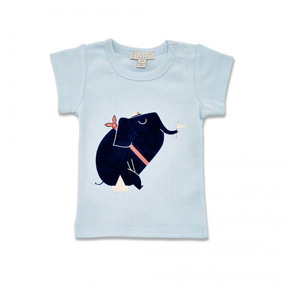 Nautical Elephant Baby T-shirt designed in Australia by Wilson & Frenchy