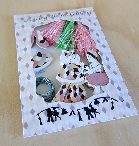 Pierrot Garland KIY Decoration Kit by Love Hate
