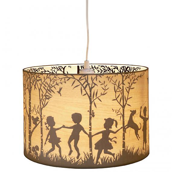 Turned ON - In the Woods Reversible Timber Shade designed in Australia by Micky & Stevie