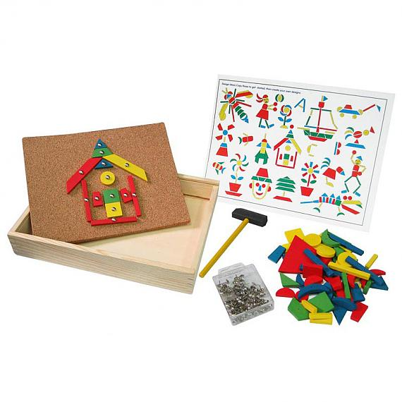 Tap Tap Set in Wooden Box designed in Australia by Fun Factory