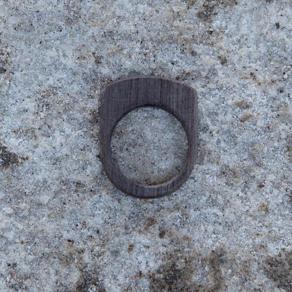 Stacking resin and wood rings designed and handmade in Australia by mooku