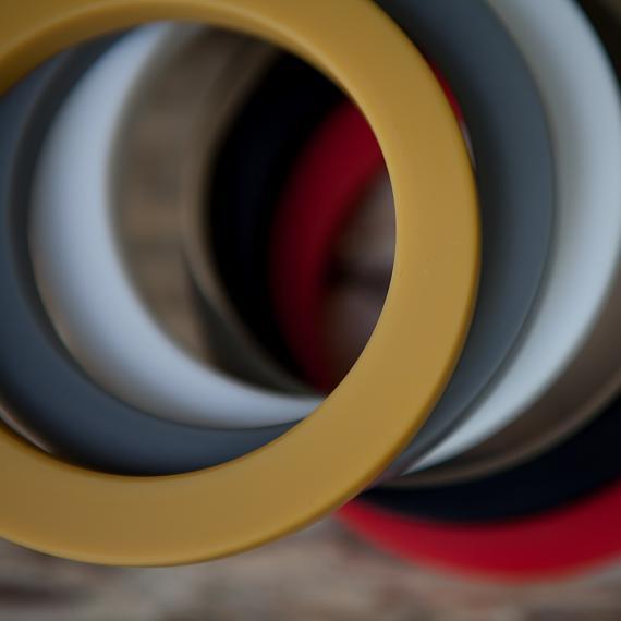 Resin Bangles - designed in Australia by mooku