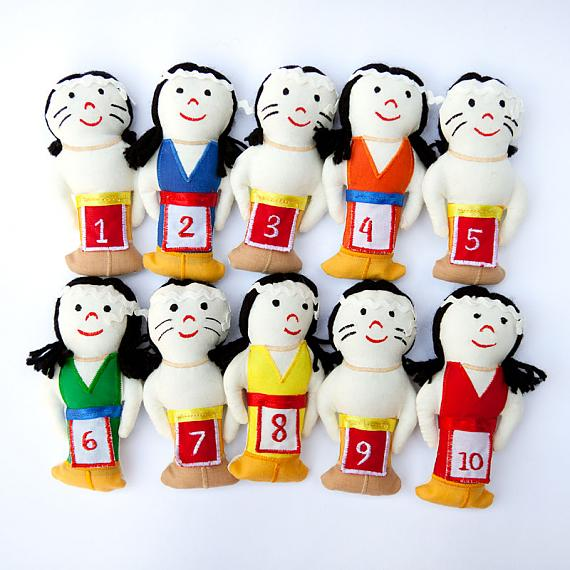 10 Little Indians for Counting by Growing World