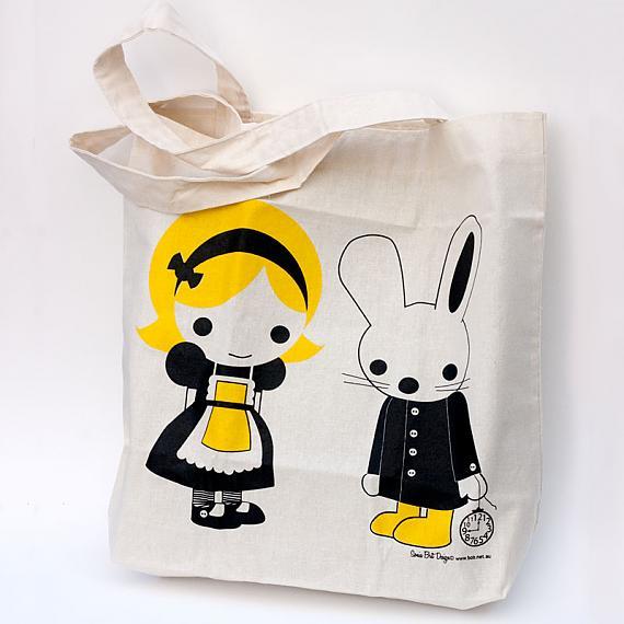 Alice Tote Bag by Sonia Brit Designs for Bob Boutique