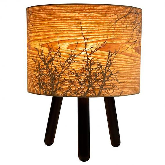 Black Autumn Table Lamp designed in Australia by Micky & Stevie